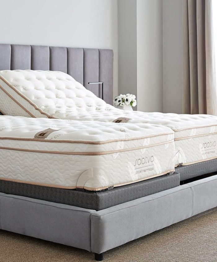 5 Best Mattresses For Scoliosis - Saatva Luxury Innerspring Mattress
