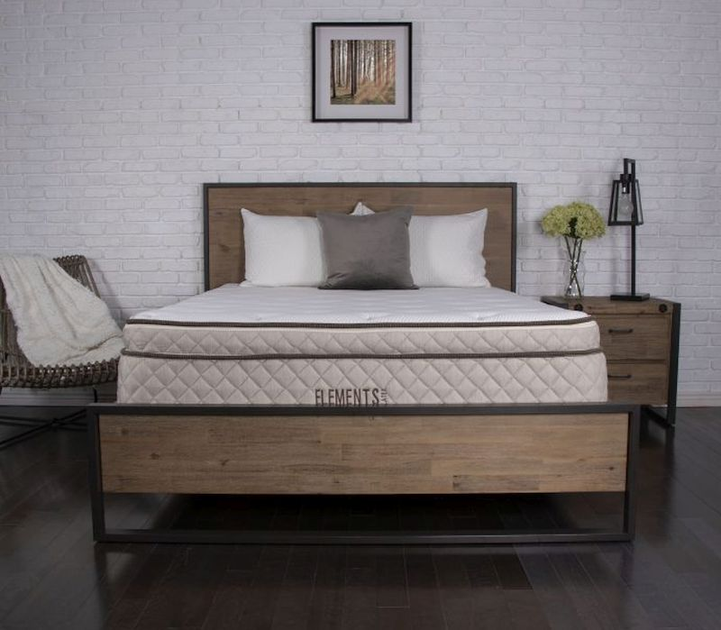 Best Mattress For Heavy People — Elements Latex Willow by Dreamfoam Bedding