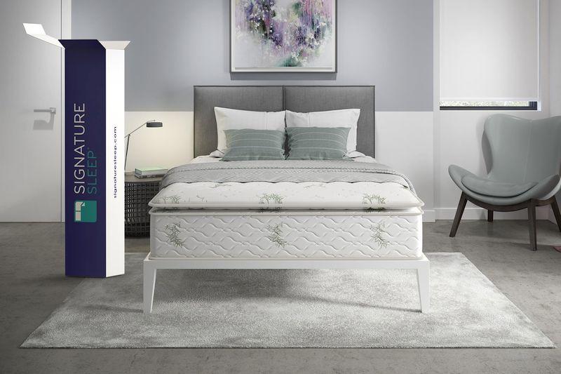 Best Mattresses Under $500 - Signature Sleep 13-Inch Hybrid Coil Mattress