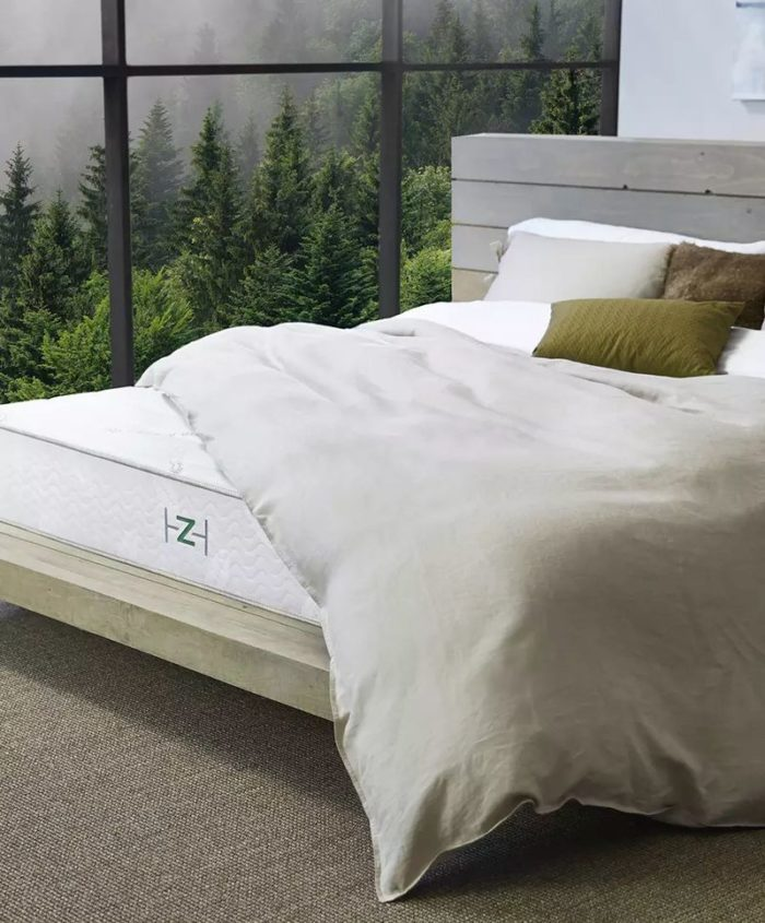 Top 5 Best Mattresses For Hot Sleepers - Zenhaven All Natural Latex Mattress Featured Image
